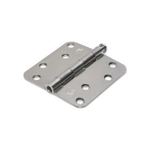 Dulimex DX H167-89892005 scharnier ronde hoeken 89x89 mm losse verzinkte pen staal verzinkt - A13002177 - afbeelding 1