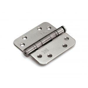 Dulimex DX H167E89892105 kogellagerscharnier 3 mm doorgezette knoop ronde hoeken 89x89 mm verzinkte pen staal verzinkt - A13002214 - afbeelding 1