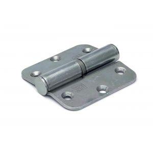 Dulimex DX H168-76760115 kogelstiftpaumelle rechte hoeken 76x76 mm links staal verzinkt - A13002348 - afbeelding 1