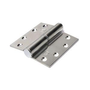 Dulimex DX H168D89890115 kogelstiftpaumelle rechte hoeken 89x89 mm doorgezette knoop links staal verzinkt - A13002342 - afbeelding 1