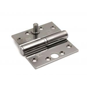 Dulimex DX H168D89892115 kogelstiftpaumelle rechte hoeken 89x89 mm doorgezette knoop links staal verzinkt SKG *** - A13002368 - afbeelding 1