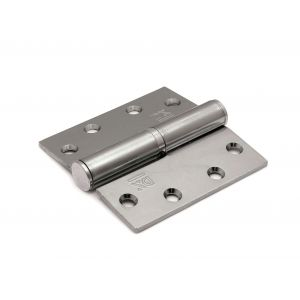 Dulimex DX H168-89890125 kogelstiftpaumelle rechte hoeken 89x89 mm rechts staal verzinkt - A13002341 - afbeelding 1
