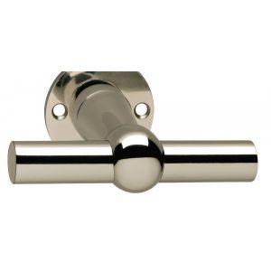 Intersteel 0324 deurkruk L/T-model nikkel 0018.032400 - A1202120 - afbeelding 1