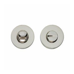 Intersteel Living 3156 WC-sluiting 8 mm rond verdekt massief nikkel 0018.315660 - A1202983 - afbeelding 1