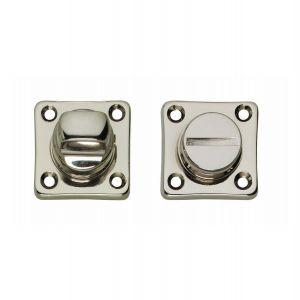 Intersteel Living 3183 WC-sluiting 8 mm vierkant nikkel 0018.318360 - A1202990 - afbeelding 1