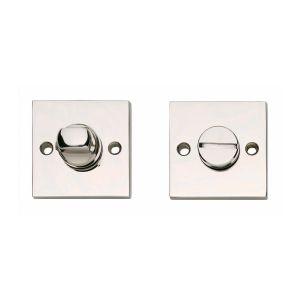 Intersteel 3184 WC-sluiting 8 mm vierkant groot nikkel 0018.318460 - A1202898 - afbeelding 1