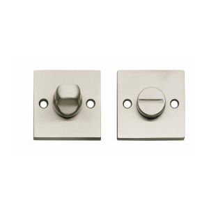 Intersteel Living 3184 WC-sluiting 8 mm vierkant groot nikkel mat 0019.318460 - A1202989 - afbeelding 1