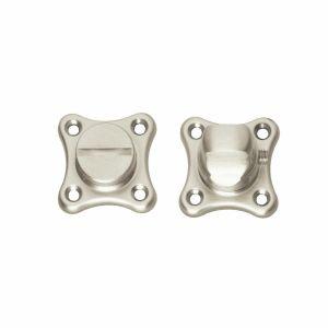 Intersteel Living 3189 WC-sluiting 8 mm klaverblad nikkel mat 0019.318960 - A1202982 - afbeelding 1