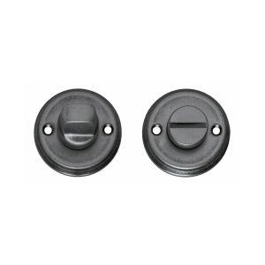 Intersteel 3173 WC-sluiting 8 mm schroefgat oud grijs 0021.317360 - A1202897 - afbeelding 1