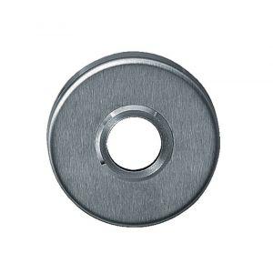 Intersteel 3411 rozet rond verdekt met metaal met nokken en veer RVS 0035.341104 - A1202742 - afbeelding 1