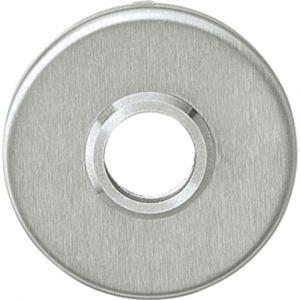 Intersteel 3414 rozet rond plat verdekt met éénzijde nok diameter 5 mm RVS 0035.341404 - A1202741 - afbeelding 1