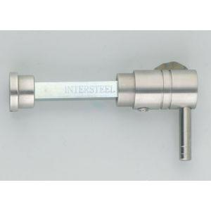 Intersteel 3711 WC-olive los 8 mm L-vorm RVS 0035.371160 - A1201545 - afbeelding 1