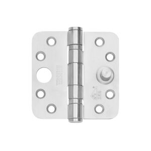 Intersteel Essentials 4625 SKG3 kogellagerscharnieren 3.5 inch afgerond 89x89x3 mm RVS 0035.462541 - Y26007206 - afbeelding 1