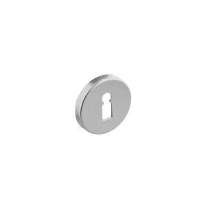 Intersteel 3090 sleutelplaatje rond verdekt aluminium F1 0082.309016 - A1202781 - afbeelding 1