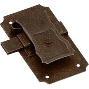 Intersteel 9260 meubelslot 25 mm baard 10x8 mm ijzer links-rechts 0098.926012 - A1200057 - afbeelding 1