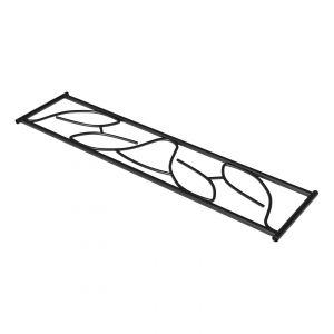 SecuBar siertralie Deco 2 zwart op de dag 250x825 mm - A30200044 - afbeelding 1