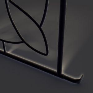 SecuBar steun voor Deco 1 en 2 zwart in de dag - A30200045 - afbeelding 1