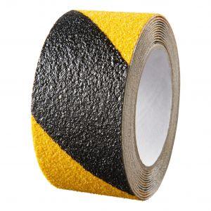 SecuCare antislip sticker zwart-geel op rol 3000x50 mm - A30200201 - afbeelding 1