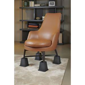 SecuCare bed- en meubelverhoger 13 cm zwart - A30200314 - afbeelding 1