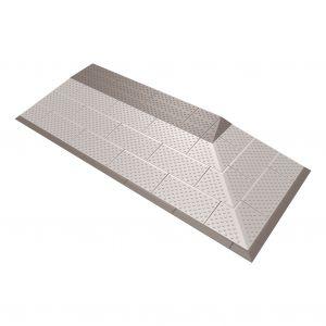 SecuCare drempelhulp grijs-bruin set 4 laags 2-zijdig oprijdbaar 570x1280 mm - A30200260 - afbeelding 1