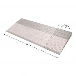 SecuCare drempelhulp verbredingsset grijs-bruin 450x240 mm - A30200234 - afbeelding 1