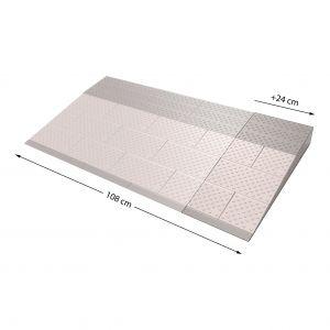 SecuCare drempelhulp verbredingsset grijs-bruin 570x240 mm - A30200235 - afbeelding 1