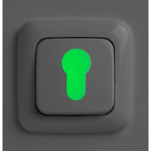 SecuCare Europrofiel cilinder en schakelaar markering Glow in the Dark - A30200279 - afbeelding 1