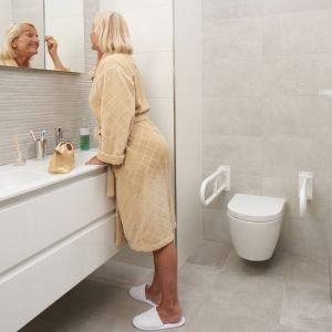 SecuCare toiletbeugel wit opklapbaar lengte 800 mm - A30200215 - afbeelding 2