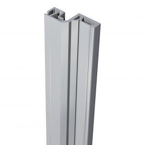 SecuStrip anti-inbraakstrip Style achterdeur grijs 2500 mm terugligging 6-8 mm - A30200187 - afbeelding 1