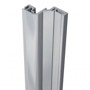 SecuStrip anti-inbraakstrip Style achterdeur grijs 2500 mm terugligging 18-20 mm - A30200188 - afbeelding 1
