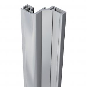 SecuStrip anti-inbraakstrip Style achterdeur grijs 2500 mm terugligging 21-23 mm - A30200189 - afbeelding 1