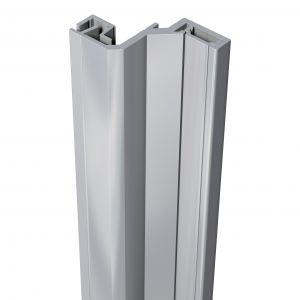 SecuStrip anti-inbraakstrip Style achterdeur grijs 2500 mm terugligging 24-26 mm - A30200190 - afbeelding 1