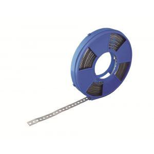 GB 861012 montageband blauwe cassette vlak 10 m 12x0,8 mm SV - Y18000040 - afbeelding 1