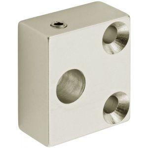 Hermeta 0899 garderobe montageset antidiefstal 2-3-4 haaks nieuw zilver - A11000567 - afbeelding 1