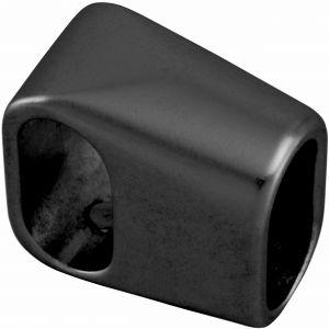 Hermeta 1285 tee vertikaal voor garderobebuis 1010 zwart - A11001585 - afbeelding 1
