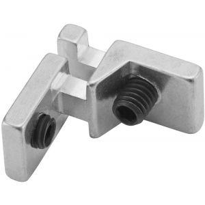 Hermeta 2150 T-verbinder Gardelux-2 voor garderobelijst 2000 blank - A11000312 - afbeelding 1
