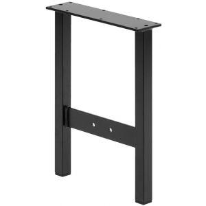 Hermeta 3063 zitbank overstapbank frame type 3 zwart - A11001352 - afbeelding 1