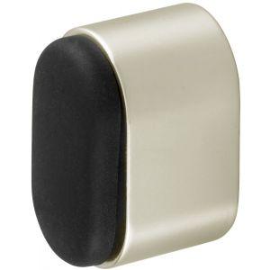 Hermeta 4700 deurbuffer ovaal 25 mm nieuw zilver - Y20100087 - afbeelding 1