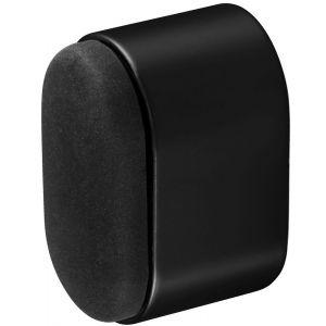 Hermeta 4700 deurbuffer ovaal 25 mm mat zwart - Y20101963 - afbeelding 1