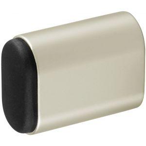 Hermeta 4702 deurbuffer ovaal 50 mm nieuw zilver - Y20100093 - afbeelding 1
