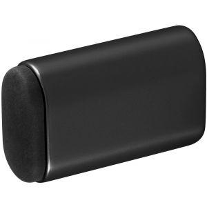 Hermeta 4704 deurbuffer ovaal 60 mm mat zwart - Y20101967 - afbeelding 1