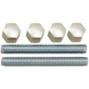 Hermeta 5801 bevestigingsmateriaal deurduwer M8 nieuw zilver - Y20100178 - afbeelding 1