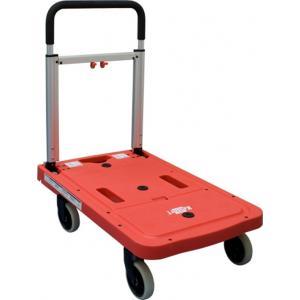 Kelfort platformwagen 125 aluminium rood-zwart 68x41x92 cm opvouwbaar 1526046