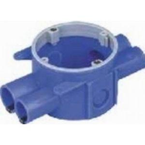ABB HW50 inbouwdoos hollewand blauw - Y51270021 - afbeelding 1