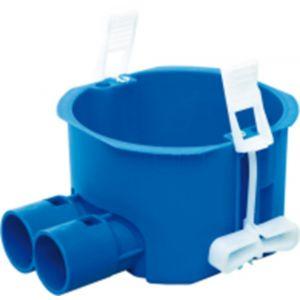ABB HW180-F Perilex hollewand inbouwdoos 2x16-19 mm blauw - Y51270023 - afbeelding 1