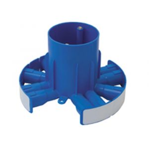 ABB C80-16/19 centraaldoos rond 10x16/19 invoer voor breedplaatvloer wit - Y51270011 - afbeelding 1