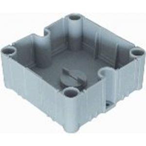 ABB 3640/1 lasdoos onderbak zonder deksel grijs - A51270126 - afbeelding 1