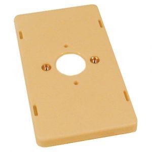 ABB 3543 montage lasdoos deksel creme - A51270119 - afbeelding 1