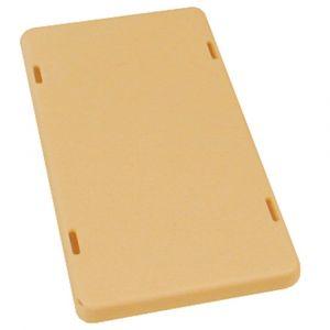 ABB 3535 lasdoos deksel blind creme - A51270120 - afbeelding 1