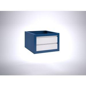 Brakel BLL400.05 ladenblok voor BL werktafel 2x lade 150 mm 600x700x400 mm RAL - Y40630139 - afbeelding 1